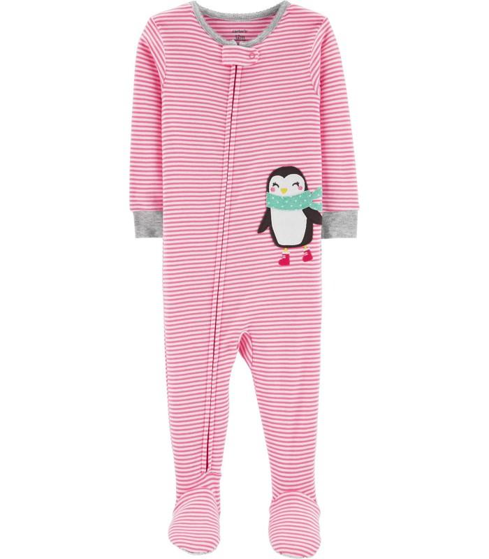 Чоловічок рожевий з пінгвіном