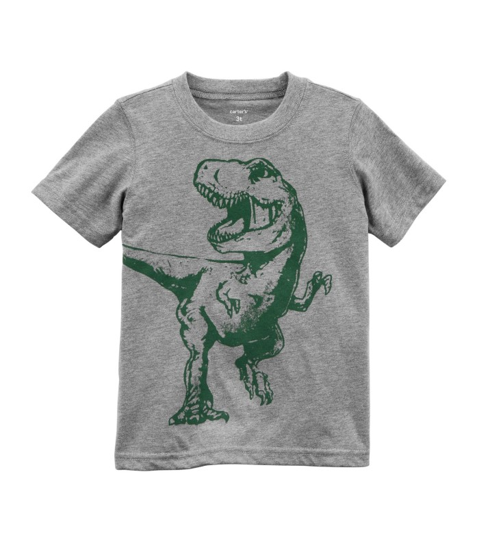 Футболка для хлопчика з тиранозавром