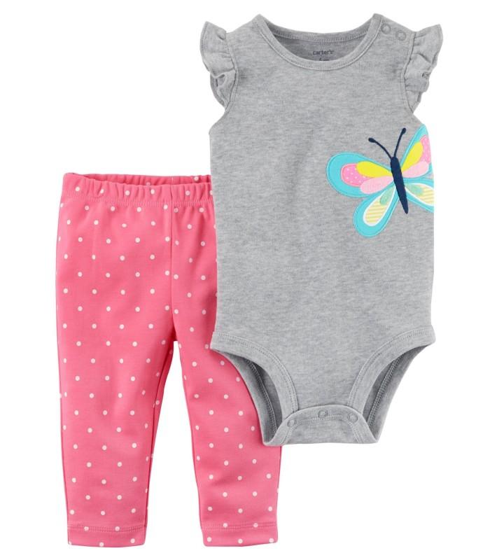 Комплект 2 в 1 штани і боді з метеликом