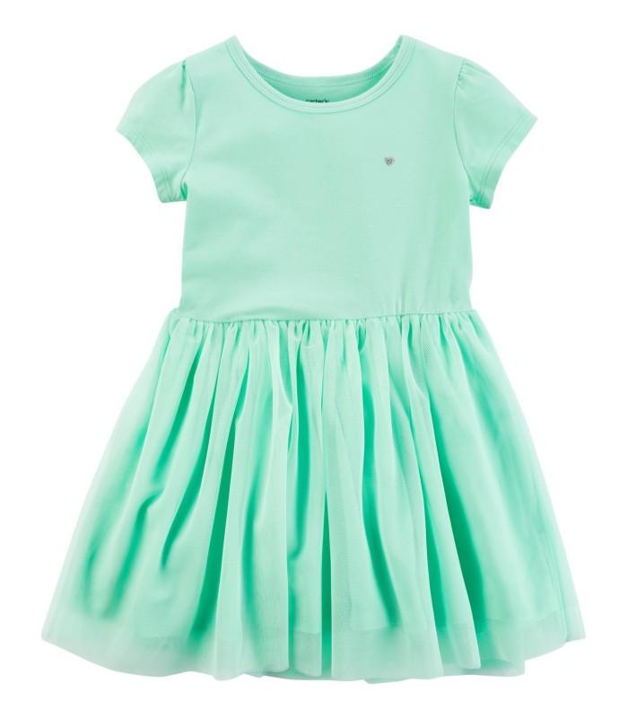 Сукня-пачка м'ятна