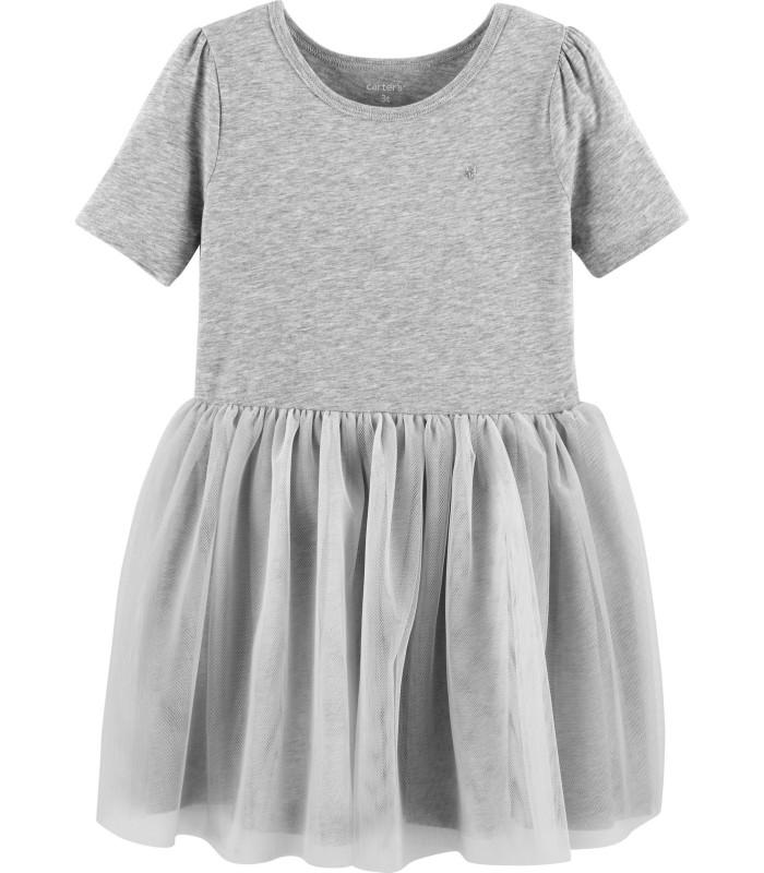Сукня-пачка сіра